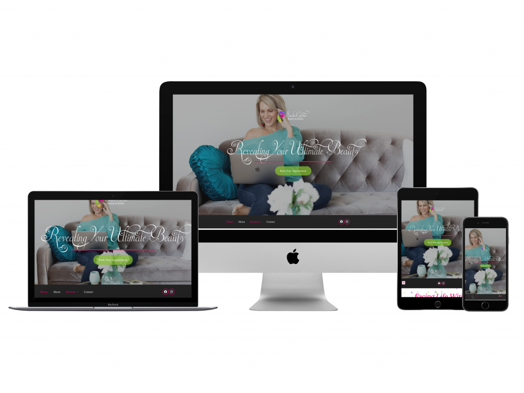 Sandra Crayton Website Example